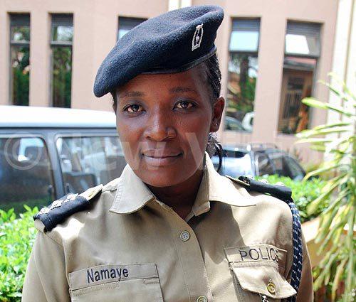 Polly Namaye, Rwizi region Police spokesperson newvision