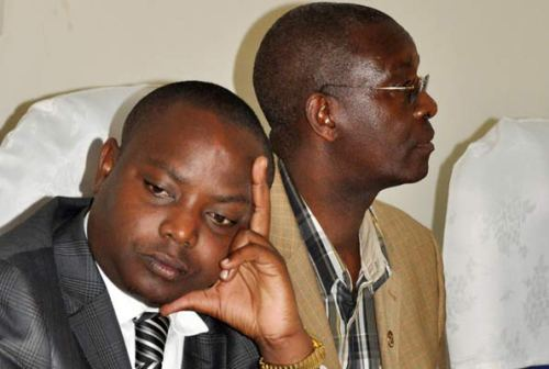 State minister for Youth Ronald Kibuule at a council meeting in Mukono last month.