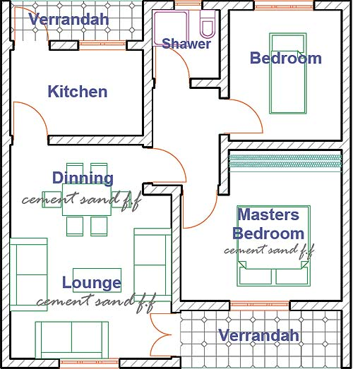 Outstanding house plans in uganda image ideas ideas for House plans in uganda image