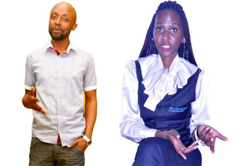 Jenkins Kisekwa (L), the promotions coordinator at Capital FM thinks times have changed, and that any 25-year-old woman who plays hard to get is in big trouble. Seanice Kacungira (R), the director of Blu Flamingo advertising agency, thinks women with the right kind of standards, get the right kind of men.