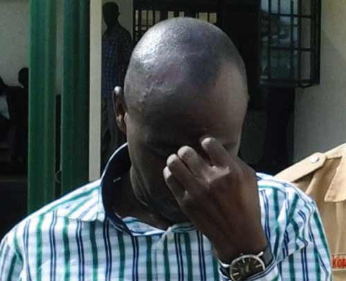 Geofrey Muliika, 43, reportedly locked up a Senior Three student in his office and defiled her.
