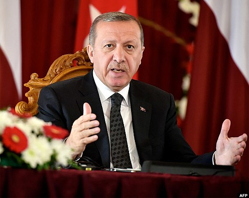 Turkish President Recep Tayyip Erdogan has been accused of blatant sexism after his comments