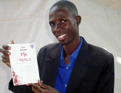 Eddie Mugulusi, author of The Amazing HIV B.I.B.L.E