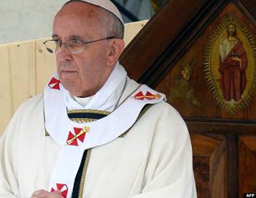 Pope Francis, who is of Italian heritage, takes a keen interest in events in Italy