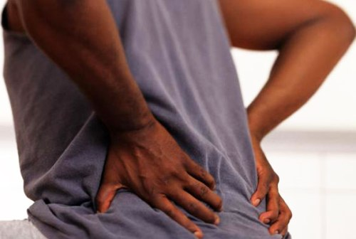 When a person experiences pain around the waist while coughing, it could be a sign of chronic back pain.