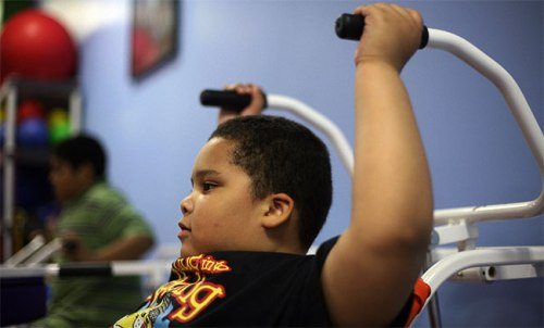 The biggest area of concern is for people who become obese while they are young. (AFP)