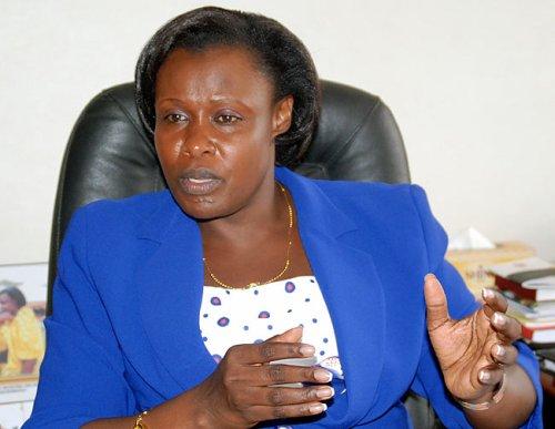 Education minister Jessica Alupo