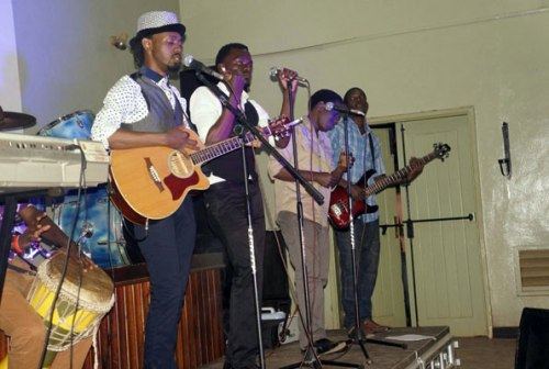 The Undercover Brothers perform at the National Museum last Saturday.