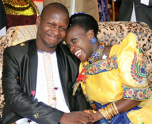 The introduction ceremony of Joel Isabirye and Rebecca Jjingo made news