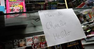 All copies of the magazine were sold out by Wednesday morning at this Paris newsstand