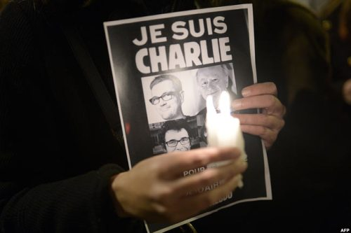 Tributes were paid to the cartoonists killed in the Hebdo Magazine attack