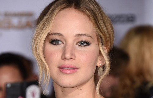 Jennifer Lawrence, pictured here on Nov. 17, was one of several victims of the iCloud hack.