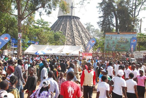 Uganda is estimated to have the 3rd largest catholic population in Africa