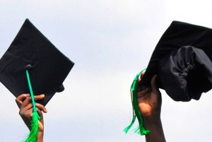 Many students who fail to graduate in the allotted time resort to trickery to make their guardians or parents believe that they have completed school.