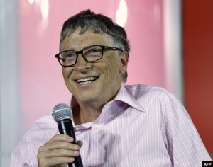 Philanthropist Bill Gates spends millions of dollars on AIDS drug development