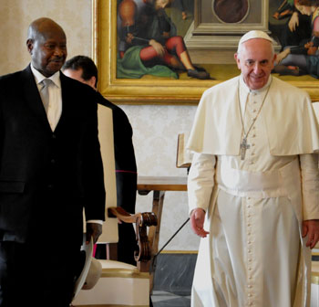 President-Museveni-Pope-Francis-and-Janet-Museveni