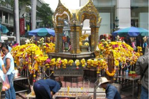 Erawan Shrine. Formally the Thao Maha Phrom Shrine, the Erawan is a Hindu shrine in Bangkok, Thailand, that houses a statue of Phra Phrom, the Thai representation of the Hindu god of creation Lord Brahma. On 17 August 2015, a bomb exploded near the shrine, killing 20.
