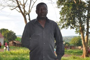 Mr Hannington Musoke, 55 is a victim of domestic violence against men